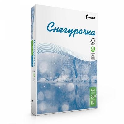 Бумага для офисной техники Снегурочка (А4, 80 г/кв.м, белизна 146% CIE, 500 листов)
