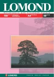 Односторонняя Глянцевая фотобумага для струйной печати, A4, 150 г/м2, 50 листов