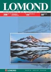 Односторонняя Глянцевая фотобумага для струйной печати, A4, 200 г/м2, 50 листов