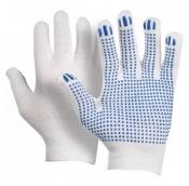 Перчатки трикотажные с ПВХ-Точка
