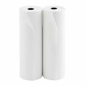 Ролик для принтеров из офсетной бумаги ProMega 210 мм (диаметр 70 мм, намотка 35-36 м, втулка 18 мм, без перфорации)