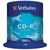 Диск CD-R Verbatim 0,7 GB 52x (100 штук в упаковке)