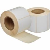 Термоэтикетки Эконом 58x40 мм ECO без печати (700 этикеток в рулоне, 5 рулонов в упаковке)