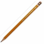 Карандаш Koh-I-Noor 1500, 2H, без ластика, заточенный