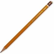 Карандаш Koh-I-Noor 1500, B, без ластика, заточенный