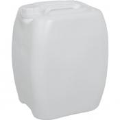 Канистра пластик 20 л белая с крышкой