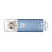 Флеш-память SmartBuy V-Cut 32 Gb USB 2.0 голубая