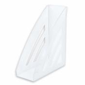 Вертикальный накопитель Attache City пластиковый прозрачный ширина 90 мм