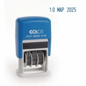 Датер автоматический Colop S120 шрифт 3.8 мм месяц букв. мини пластиковый