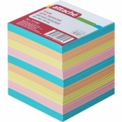 Блок-кубик Attache запасной цветной 90х90х90 мм