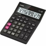 Калькулятор настольный Casio GR-14 14-разрядный черный