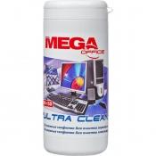 Салфетки Promega office Ultra Clean в тубе для экранов (100 штук)