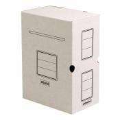 Короб архивный Attache гофрокартон белый 256x100х320 мм