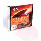 Диск CD-RW VS 0,7 GB 12x (5 штук в упаковке)