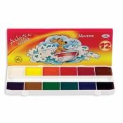 Акварельные медовые краски Мультики 12 цветов