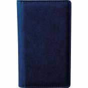 Визитница настольная Attache Сиам пластиковая на 96 визиток синяя