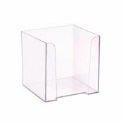 Бокс для бумаги прозрачный 90х90х5 мм