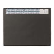 Коврик на стол DURABLE 7204-01 с календ. 52х65 с прозр.лист черный