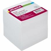 Блок-кубик Attache на склейке белый 90х90х90 мм