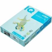 Бумага цветная для офисной техники IQ Color (А4, 160 г/кв.м, MB30-голубой, 250 листов)