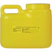 Упаковка для сбора медицинских отходов Олданс класс Б желтая 3 л (24 штуки в упаковке)