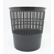 Корзина для мусора 10 л (пластик, серая)