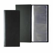 Визитница настольная Attache пластиковая на 96 визиток черная