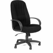 Кресло для руководителя Chairman 685 черное (ткань/пластик)