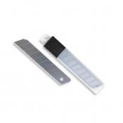 Лезвия сменные для канцелярских ножей Attache 18 мм  (10 штук в упаковке)
