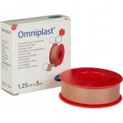 Пластырь фиксирующий Omniplast 1.25x500 см тканая основа