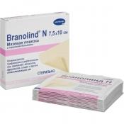 Мазевая повязка Branolind N с перуанским бальзамом 7.5х10 см (30 штук в упаковке)