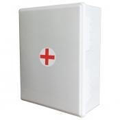 Аптечка первой помощи работникам Виталфарм (по приказу №169н, пластиковый шкаф)