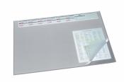 Коврик на стол DURABLE  с календ. 52х65 с прозр.лист Серый